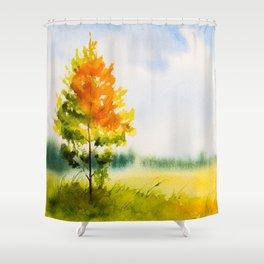 Autumn scenery #22 Shower Curtain