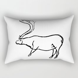 French Paleolithic deer Rectangular Pillow