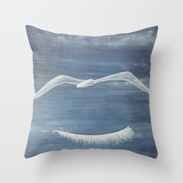 Freedom dream. Sueño de libertad Throw Pillow