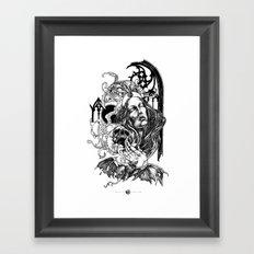 Night Overture Framed Art Print