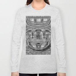 Ode To MC Escher Library of Congress Orb Long Sleeve T-shirt