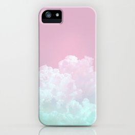 Dreamy Candy Sky iPhone Case