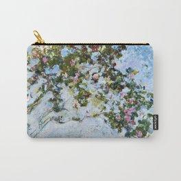 "Claude Monet ""The Rose Bush"" Carry-All Pouch"