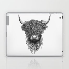 Highland Cow Laptop & iPad Skin