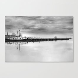 Steady Waters Canvas Print