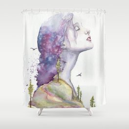 Arise by Ruth Oosterman Shower Curtain