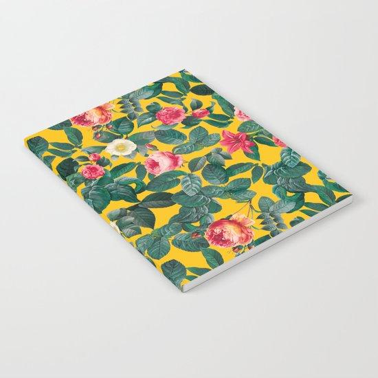 Summer Botanical Pattern Notebook