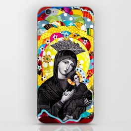 Nossa Senhora do Perpétuo Socorro (Our Lady of Perpetual Help) iPhone Skin