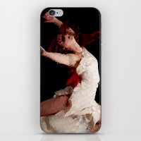 dancer iPhone & iPod Skins featuring Dancer by Vetii