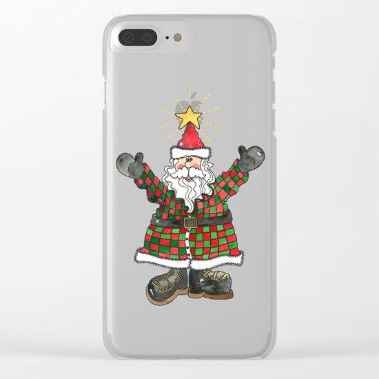Santa Clear iPhone Case