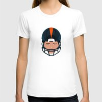 denver T-shirts featuring Faces-Denver by IllSports