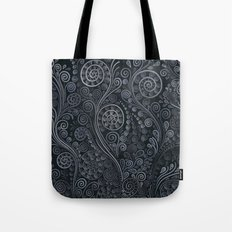 3D ornaments, soft blue Tote Bag