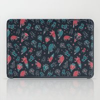 the office iPad Cases featuring Office plankton by Victoria Sochivko