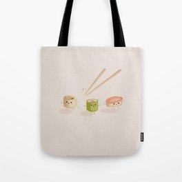Running Sushi Tote Bag