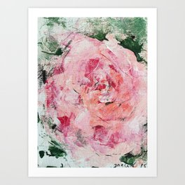 Rose, garden 15 Art Print