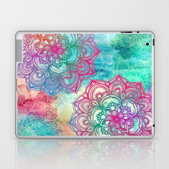 Round & Round the Rainbow Laptop & iPad Skin