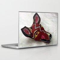 mask Laptop & iPad Skins featuring Mask by Abundance