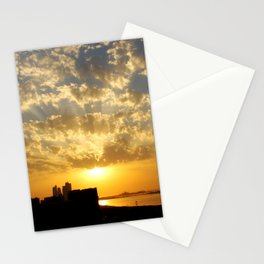 Sunset on the Marina Stationery Cards