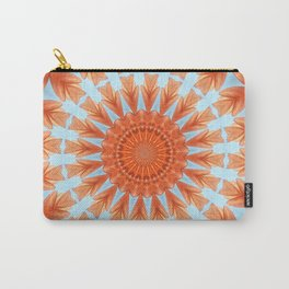 HEARTS AND FLOWERS MANDALA Carry-All Pouch