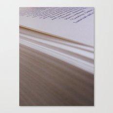 The Dead Elf Canvas Print