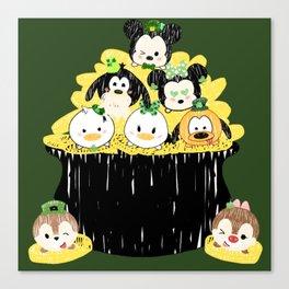 Lucky Tsum Tsums Canvas Print