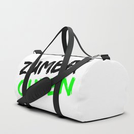Zumba Queen (Green) Duffle Bag