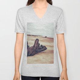 Ocean Driftwood Unisex V-Neck