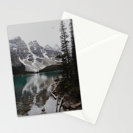 Moraine Lake Shoreline Stationery Cards