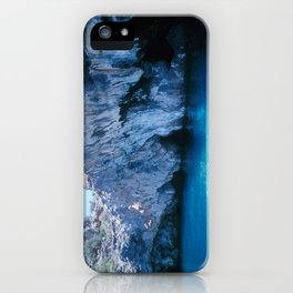 NATURE'S WONDER #5 - BLUE GROTTO (Turkey) #2 #art #society6 iPhone Case