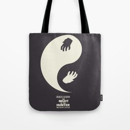 The night of the hunter, minimal movie poster (Robert Mitchum, Charles Laughton) classic Hollywood Tote Bag