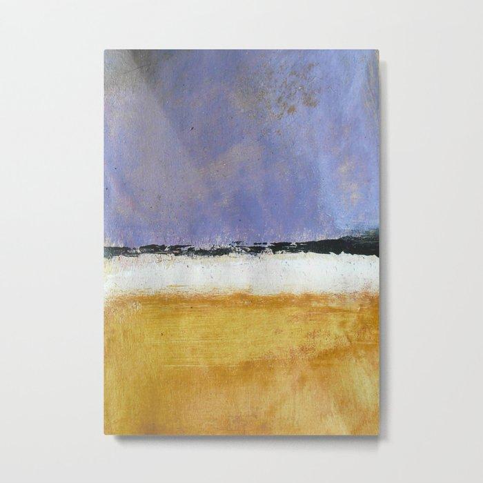 Mark Rothko Interpretation Acrylics On Paper Metal Print