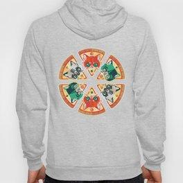 Pizza Slice Cats  Hoody