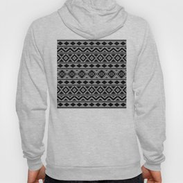 Aztec Essence Ptn III Black on Grey Hoody