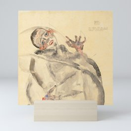 """Egon Schiele """"I Will Gladly Endure for Art and My Loved Ones"""" Mini Art Print"""