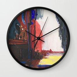 Dream blue Wall Clock
