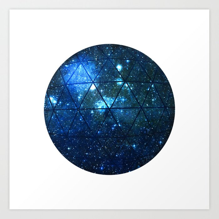 Star Geodesic Art Print