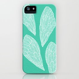 Cicada Wings – Turquoise iPhone Case