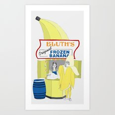 There's Always Money in the Banana Stand. Art Print
