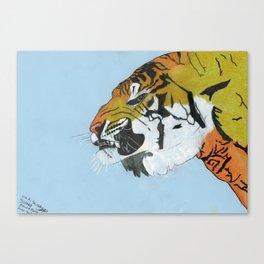 tyger 1 Canvas Print