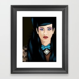 Dream Lady Framed Art Print