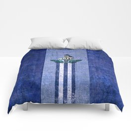 poloplayer blue Comforters