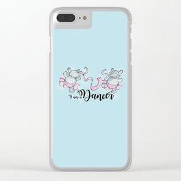 I am a dancer Clear iPhone Case