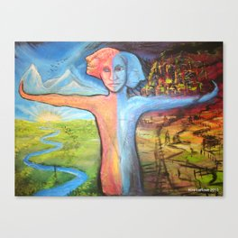 Truth & Consequences  Canvas Print