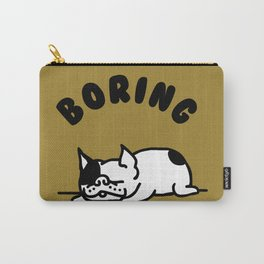 BORING FRENCHIE Carry-All Pouch
