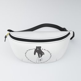 Hand of the Universe Fanny Pack