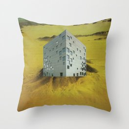 desert resort Throw Pillow