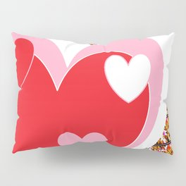 Physical Hart Pillow Sham