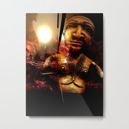 """""""Made It Out Alive"""" Metal Print"""