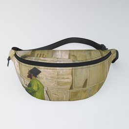 Jean-Leon Gerome - The Wailing Wall - Digital Remastered Edition Fanny Pack