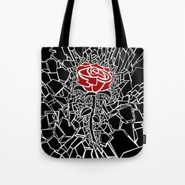 The Shattered Rose Tote Bag